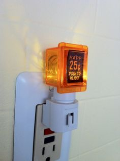 25 Cent Pinball Arcade Video Game LED Night Light by wirenot, $25.00