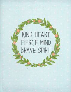 Trisha B Blog: One Little Word {Brave}
