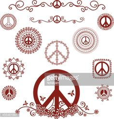tattoo peace signs - Google Search                                                                                                                                                     More