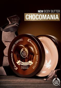 cHOCOMANIA!  This is my most favourite scent from The Body Shop, feel like i wanna lick my whole body after put this butter to my body. YUMM!
