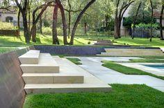 modern landscaping dcrain modern yard garden water