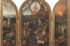 Jheronimus Bosch Het laatste oordeel in het Groeninge museum in Brugge