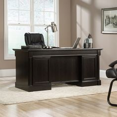 Darby Home Co® Hennepin Executive Desk
