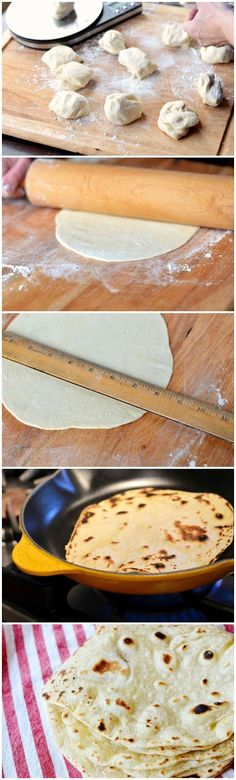 Healthy Homemade Tortillas #healthy #homemade #tortillas