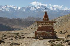 Upper Mustang Trek – Sungda Chorten unweit von Lo Manthang