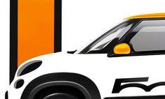 SEMA sketch of Fiat 500 for 2013