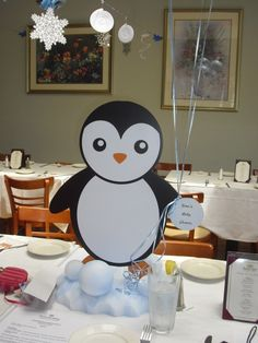 Captivating Penguin Centerpiece
