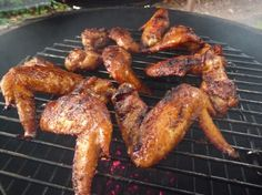 5/28/13 - Awesome flavor!!!  Tasted just like the wings my daughter and I ate while in Jamaica!  Just cooked on the gas grill without any wood chips and still turned out wonderful.  Will definately make again! ***********  Jamaican Jerk Chicken Wings