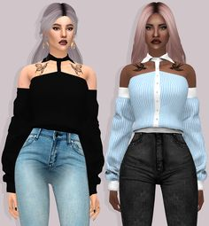 PIEFLAVOREDPIELOVER HOT BLOODED SHIRT WITH SLEEVES  By Lumy-Sims