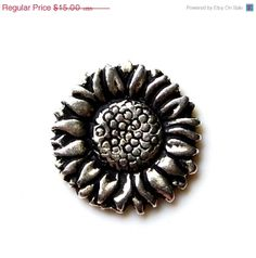 ON SALE Limited Time Only Sunflower Lapel Pin Gift by Mancornas, $12.95