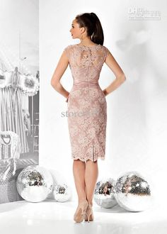 Sheath Pink Short Mother Of The Bride Dresses Cap Sleeve Appliques Beaded Lace Evening Gowns E3107 Mother Of The Bride Dress Plus Size Mother Of The Bride Dresses Houston From Store005, $116.24| Dhgate.Com