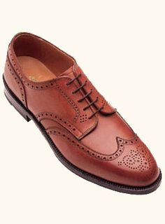 Alden shoes for men, love these wing tips