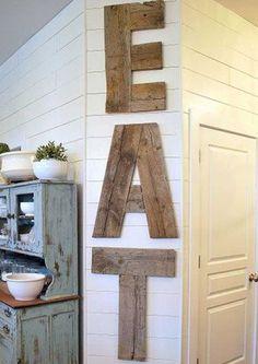 8 modi per riutilizzare vecchie assi di legno
