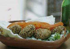 """There is a good measure of excitement when one decides: """" let's make homemade falafel"""""""