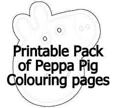 peppa pig coloring pages | haley activities | pinterest - Peppa Pig Coloring Pages Print