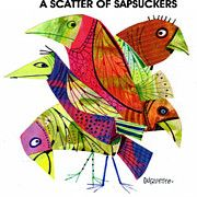 A Scatter Of Sapsuckers Print by Steven Duquette
