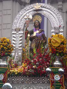 St. Jude Procession Lima Peru