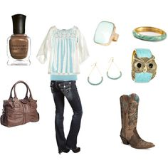 Already have the clothes, now for the boots and bag