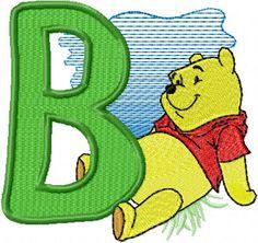 winnie pooh free machine embroidery design