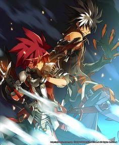 Elsword and raven