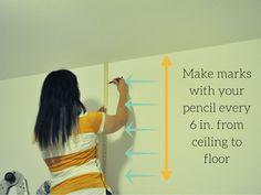 51 Ideas For Fake Shiplap Wall Classroom Painting Shiplap, Faux Painting, Diy Painting, Painting Furniture, Sharpie Wall, Sharpie Paint Pens, Diy Barn Door, Diy Door, Installing Shiplap