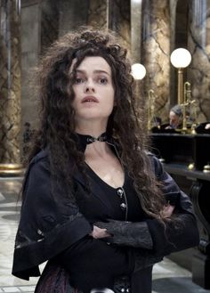 My favorite Bellatrix Lestrange outfit (Deathly Hallows Pt 1 I think?)