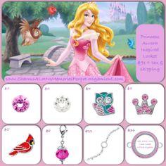Disney's Sleeping Beauty, Princess Aurora inspired locket!! www.asaylor.origamiowl.com  Thanks!