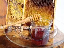 Der Honig hat eine sehr beruhigende und stärkende Wirkung.