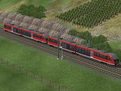 Dieseltriebwagen der Baureihe VT642 der DBAG
