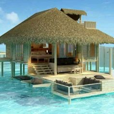 Sun, beach, summer, water, ocean, - my house (I wish!!)