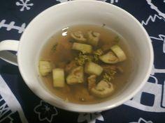 なすとあさりのスープ