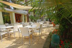 Enjoy your breakfast in our garden