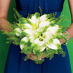 Wedding Color Scheme: Blue and Green : Brides