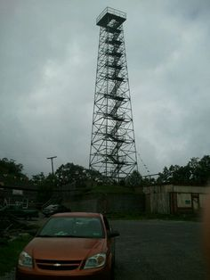 Big walker lookout tower in wytheville va. Great place to stop on a roadtrip.