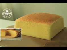 Taiwanese Castella Cake – This is one of my favourite cakes of all time with its cotton soft texture. The texture is just so fluffy that it melts in your mou. Sponge Cake Recipes, Best Cake Recipes, Apple Pie Recipes, Cheesecake Recipes, Baking Recipes, Dessert Recipes, Castella Cake Recipe, Bunt Cakes, Crazy Cakes