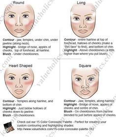 How To Contour Your Face in 3 Easy Steps Contour makeup makes your ...