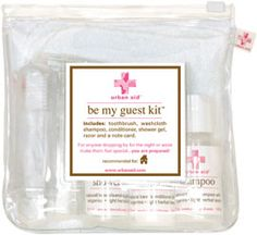 be my guest kit. perfect for house guests.
