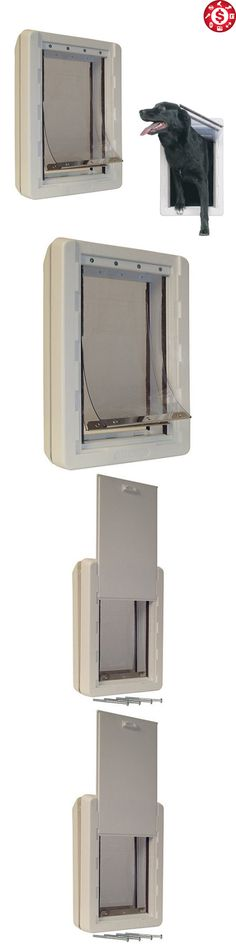 Doors And Flaps 117421: Pet Door Extra Large Dog Cat Safe Flap Doors All  Weather