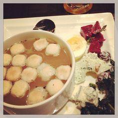 Soup in dinner - @alexsydneymagic- #webstagram
