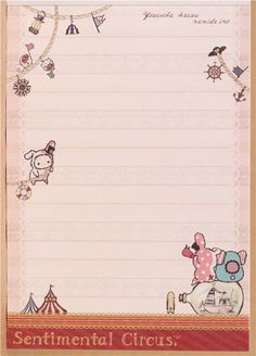 kawaii Memo Pad Sentimental Circus rabbit maritime Japan 4