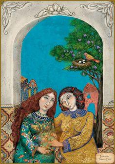 María visita a Isabel - La vida de Jesús