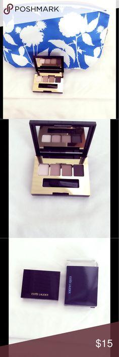 Brand New Estée Lauder Eyeshadow Palette Bag Set Estée Lauder Makeup Bag And Sculpting Eyeshadow Palette . Brand New Travel size Bundle, never used. Estee Lauder Makeup Eyeshadow