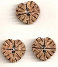 Elan 30 9544B Wooden Heart Button Heart Button, Wooden Hearts, Knitting Projects, Embellishments, Clock, Buttons, Country, Crafts, Home Decor