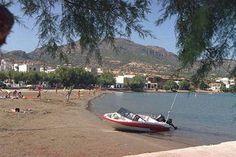 The beach of Makrigialos, Ierapetra, Crete, Greece