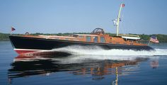Liberty - 80ft commuter style yacht, designed by Bruce King, built by Hodgdon Yachts of East Boothbay, Maine, USA, in 1997.