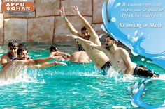 Cool off with your family and friends at Appughar Water-park. #waterpark #fun #rides
