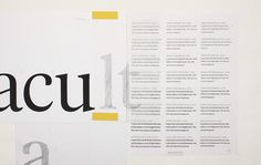 Faculty Department on Editorial Design Served