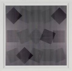 Alberto Biasi: Rolling Squares , 2000 - 2008105 x 105cm