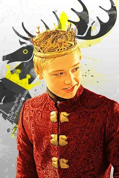 King Tommen Baratheon   Game of Thrones - by Hilary Heffron, Hilarious Delusions