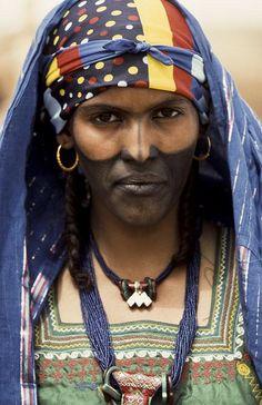 Tuareg Bride . Mali